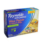 Reynolds Kitchens Wax Paper Sandwich Bags