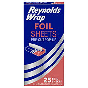 Reynolds Wrap Pre-Cut Pop-Up Foil Sheets