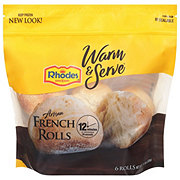 Rhodes Bake N ServArtisan French Rolls