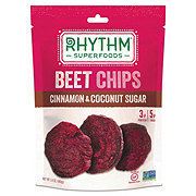 Rhythm Superfoods Beet Chips Cinnamon And Coconut Sugar