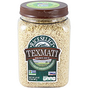 Rice Select Texmati Long Grain American Basmati Brown Rice