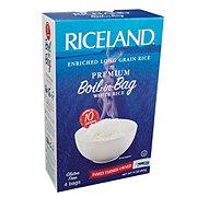 Riceland Enriched Long Grain Rice, Premium Boil-In-Bag, White Rice