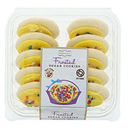 Rich's Go Texan Easter Yellow Frosted Cookies