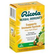 Ricola Immunity Citrus Lozenges