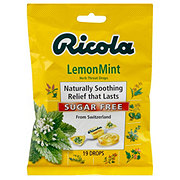 Ricola Sugar Free Lemon Mint Herb Throat Drops
