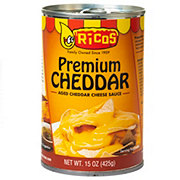 Ricos Aged Cheddar Cheese Sauce