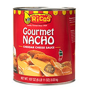 Ricos Gourmet Nacho Medium Cheddar Cheese Sauce