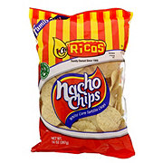 Ricos Nacho Chips White Corn Tortilla Chips