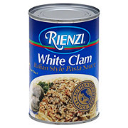 Rienzi White Clam Italian Style Pasta Sauce