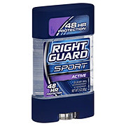 Right Guard Sport  Clear Gel 3-D Odor Defense Active Antiperspirant & Deodorant