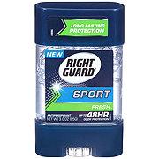 Right Guard Sport  Clear Gel 3-D Odor Defense Fresh Antiperspirant & Deodorant