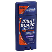 Right Guard Sport  Invisible Solid 3-D Odor Defense Waterproof Protection Active Antiperspirant & Deodorant