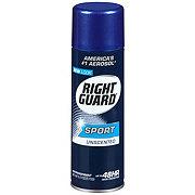 Right Guard Sport Unscented Antiperspirant Aerosol