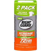Right Guard Total Defense 5 Invisible Solid Fresh Blast Antiperspirant & Deodorant Twin Pack