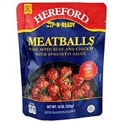 Rip N Ready Meatballs With Spaghetti Sauce