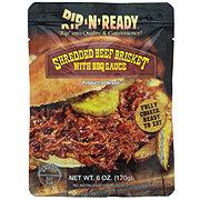 Rip N Ready Shredded Beef Brisket BBQ Sauce