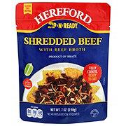 Rip N Ready Shredded Beef With Broth