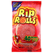 Rip Rolls Strawberry Candy