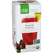 Rishi Organic Artisan Tropical Crimson Iced Tea