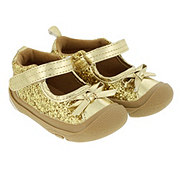 Rising Star Gold Glitter Shoes
