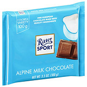 Ritter Sport 30% Cocoa Alpine Milk Chocolate