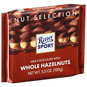 Ritter Sport Milk With Whole Hazelnuts Chocolate