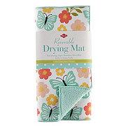 Ritz Drying Mat Butterflies And Peony