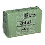 River Soap Company Garden Mint Soap