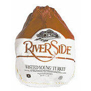 Riverside Whole Frozen Turkey 20-24 lb, Limit 2