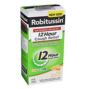 Robitussin 12 Hour Extended Release Cough Relief Orange Flavored Liquid