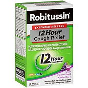 Robitussin Extended Release - 12 Hour Cough Relief, Grape