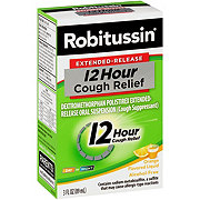 Robitussin Extended Release - 12 Hour Cough Relief, Orange