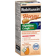 Robitussin Maximum Strength Nghttime Cough DM Honey