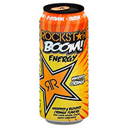 Rockstar BOOM! Whipped Orange Energy Drink
