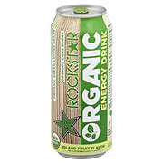 Rockstar Island Fruit Organic Energy Drink