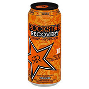 Rockstar Recovery Energy + Hydration Orange Drink