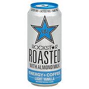 Rockstar Roasted Almond Milk Light Vanilla Energy Drink