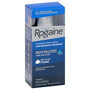 Rogaine Men's 5% Minoxidil Topical Foam One Month Supply