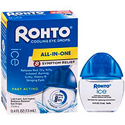 Rohto Ice Redness Relief Lubricant Eye Drops