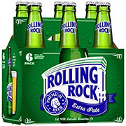 Rolling Rock Premium Extra Pale Beer 12 oz Bottles