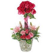 Rose Garden Topiary - Premium