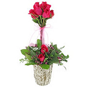 Rose Garden Topiary - Traditional