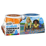 RoseArt Sidewalk Chalk Paint Glitter
