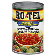 Rotel Diced Tomatoes with Mexican Lime and Cilantro