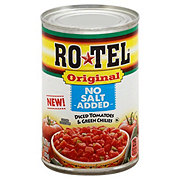 Rotel Original No Salt Added Diced Tomatoes & Green Chilies