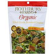 Rothbury Farms Organic Whole Grain Seasoned Croutons