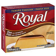 Royal Flan with Caramel Family Size