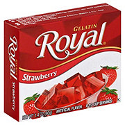 Royal Strawberry Gelatin Mix