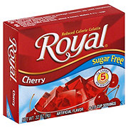 Royal Sugar Free Cherry Gelatin Mix