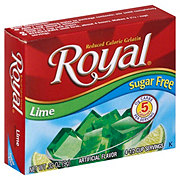 Royal Sugar Free Lime Gelatin Mix
